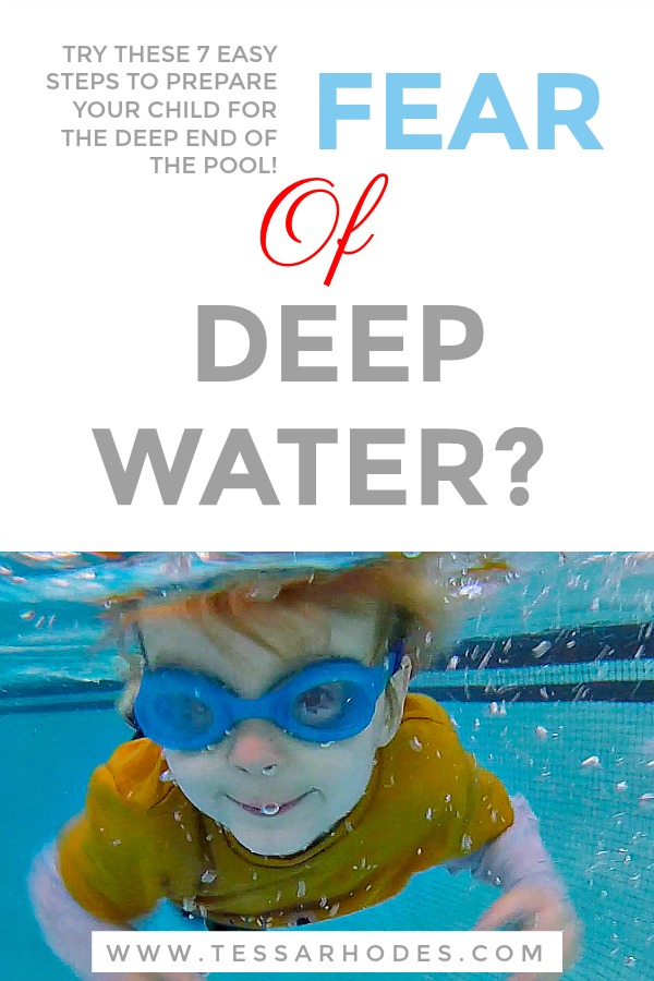 Deep Water Help Your Child Or Swim Student Overcome Their