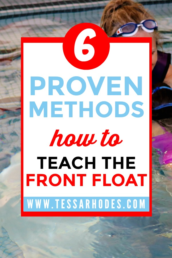 Help your child learn how to front float.